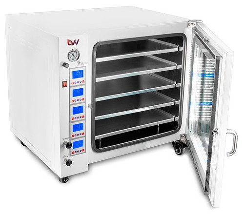 7.5CF Neocision Lab Certified Vacuum Oven, 5 Individually Heated Shelves, LED's