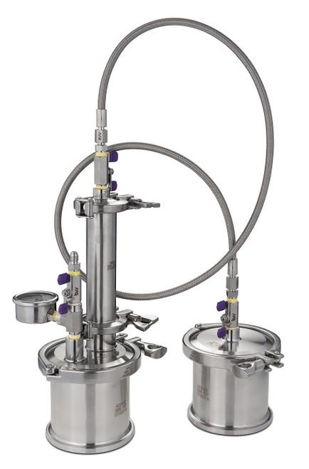 "Lab Pack 10 - 45G Mini Extractor; 3 Gallon Aluminum Chamber; 9"" Vacuum Chamber Heat Pad ;  VE115 3CFM Pump"
