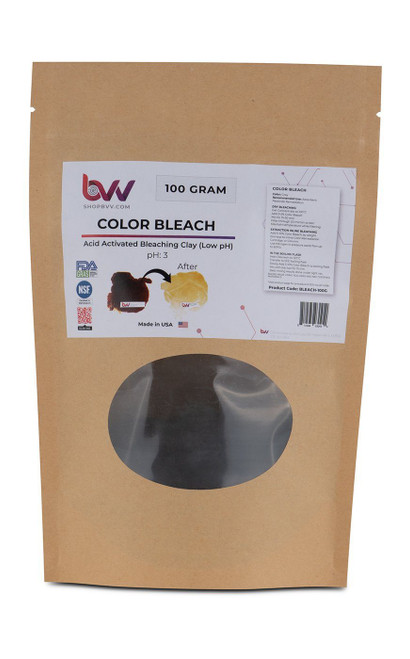 BVV™ Color Bleach for Edible Oils *FDA & NSF Certified Material (Compares to T-41™)