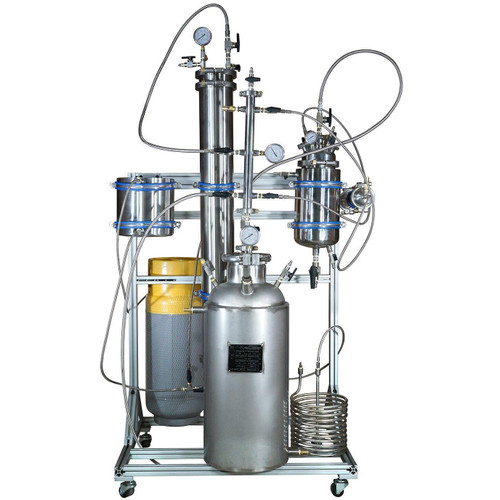 10LB Active PSI Certified Closed Loop Turnkey Extraction System