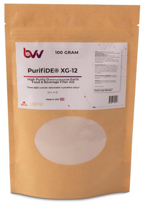BVV™ PurifiDE XG-12 Ultra Purified Diatomaceous Earth Filter Aid