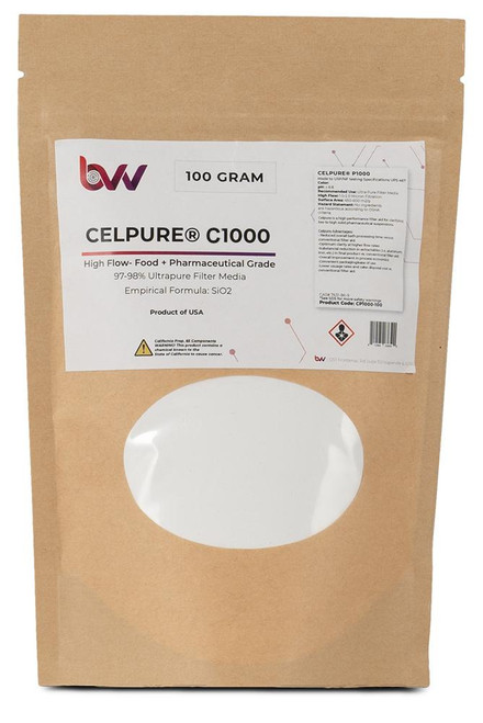 CELPURE® C1000 meets USP/NF & GMP testing specifications
