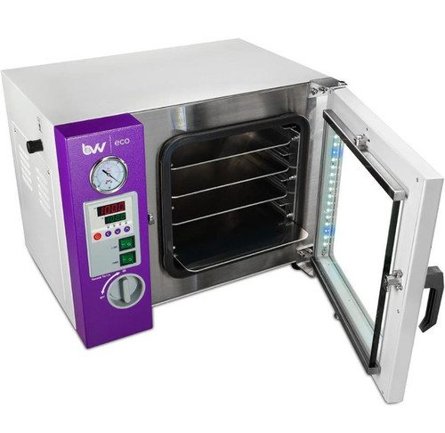 0.9CF BVV ECO Vacuum Oven - 4 Wall Heating, LED display With 4 Shelves Standard