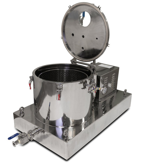 45L Jacketed Stainless Steel Centrifuge - 15LB Max Capacity