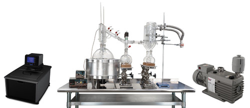 10L Neocision Dual Head Short Path Distillation Turnkey System