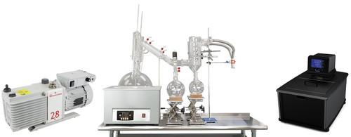 20L Neocision Dual Head Short Path Distillation Turnkey System