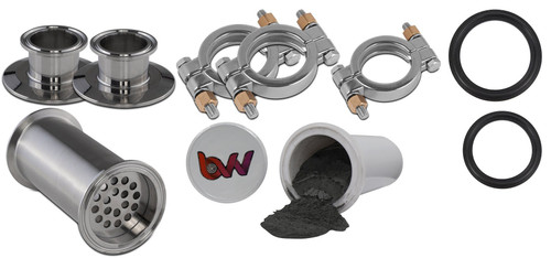 BVV Tri-Clamp Inline Filter Housing Kit with Free Sample Cartridge