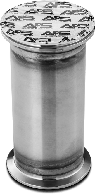 """AFS 4"""" Tri-Clamp Inline Filter Housing for Disposable Color Remediation Cartridges"""