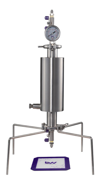 """1.5"""" Closed Column Pressurized Extractor"""