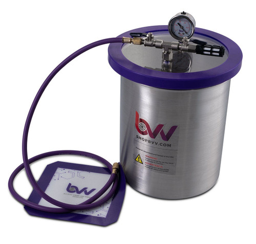 3 Gallon Stainless Steel Vacuum & Degassing Chamber - Best Value Vacs