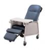 Lumex 3-Position Recliner Geri Chair shown in Blue Ridge 574G427.