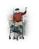 """Drive Clever-Lite Walker Rollator with Seat & Loop Locks - 5"""" & 8"""" Casters"""
