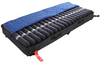 The Protekt Aire 5000DX Deluxe Alternating Pressure Mattress with Low Air Loss system shown with the removable and washable zippered cover pulled back.