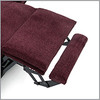 "Optional Footrest Extension adds an additional 2.5"" of length to your chair when fully extended."