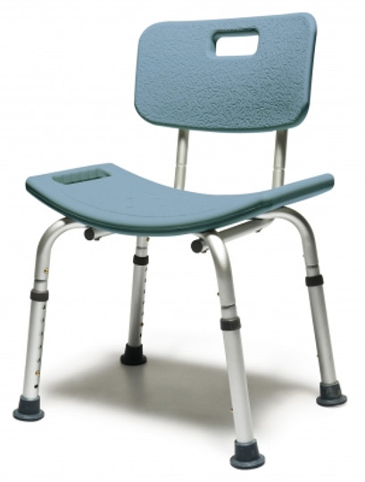Platinum Collection Bath Seat in Steel Blue - not available