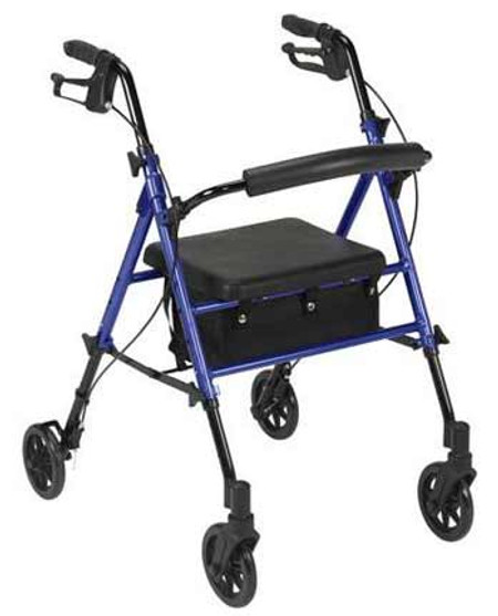 Drive Rollator with Adjustable Seat