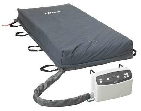 The Med-Aire Plus Alternating Pressure Low Air Loss System with Alarm is a full system that includes the mattress and pump (SKU 14029-84).