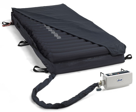 Med-Aire Melody Alternating Pressure & Low Air Loss Mattress system 14026 includes mattress and pump.