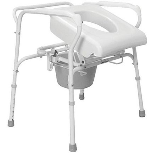 Carex Uplift Commode Assist, White