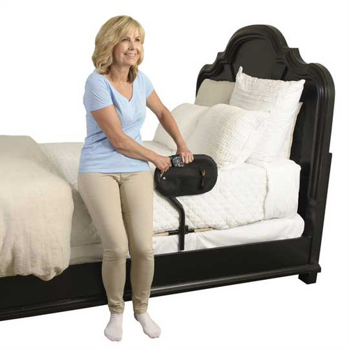 Stander BedCane makes it easier and safer getting in and out of bed.
