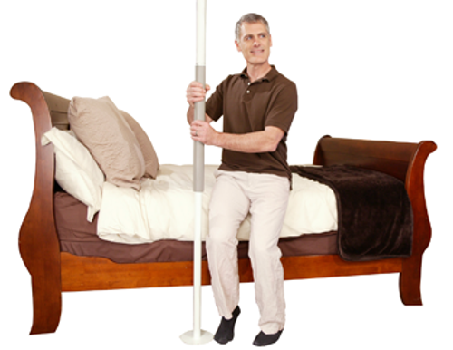 Stander Security Pole - White