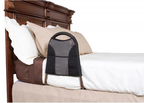 "Stander Bedside Econorail, 21.5""L x 20""W x 16""H, Aluminum"