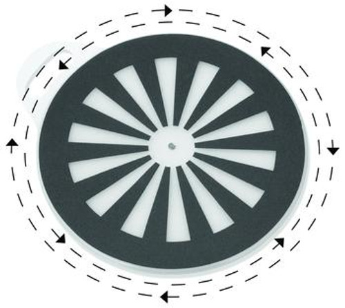 "SafetySure Pivot Discs - 13"", 15"" or 18"" Diameter"