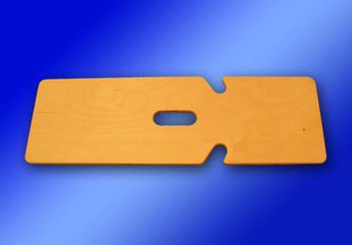 """SafetySure Double Notched Wooden Transfer Boards - 24""""L x 8""""W x 1/2""""D"""