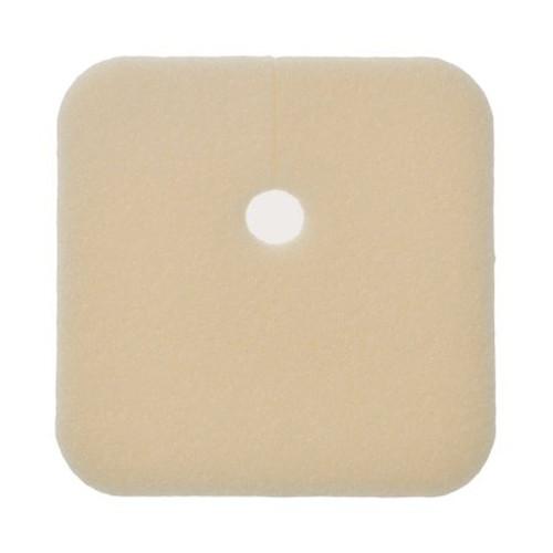 "Lyofoam Non-Adhesive Foam Tracheostomy Dressing - 3.5"" x 2.5"""