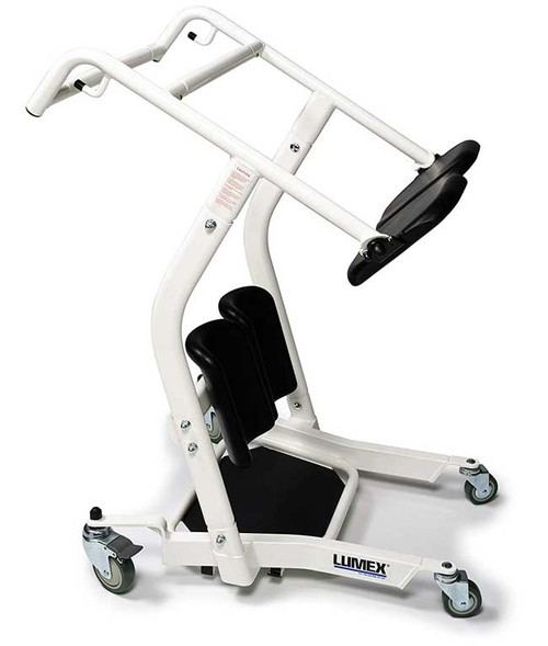Lumex LF1600 Stand Assist Lift & Patient Transport helps keep users actively engaged in the transport process.
