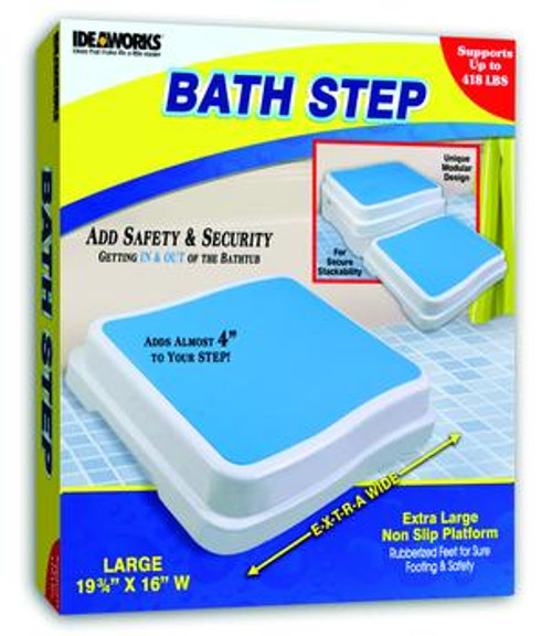 "Bath Step, 19.75"" x 16"" Platform - Adds  4"" to Height"