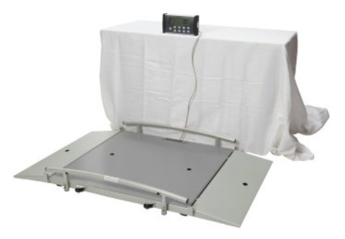 Health o Meter Digital Wheelchair Ramp Scale with LCD Display, Weight Capacity 1000 lbs