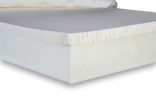 Flex-A-Bed's Latex Foam Core mattress provides the soft feel and dynamic support of a luxurious, custom-molded mattress. The 100% natural rubber latex core is constructed with a talalay latex and laminated to a polyurethane foam core to create a solid base of support.