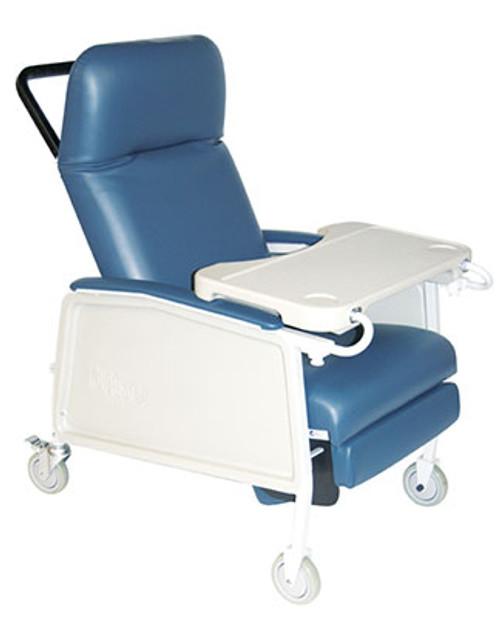 Drive Medical Extra-Wide Bariatric 3-Position Recliner - 500 lbs Capacity