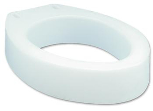 Carex Health Brands Elongated Toilet Seat Elevator