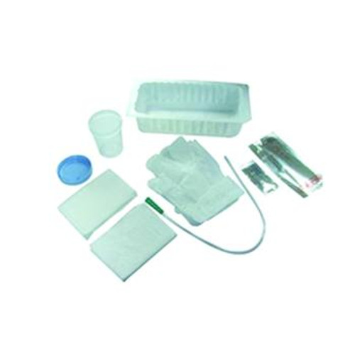 AMSure Urethral Catheterization Tray with Vinyl (PVC) Catheter (Case of 20)