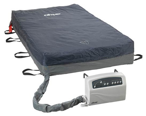 """The Med-Aire Plus Bariatric Alternating Pressure Mattress System 14054 is a complete system with 54""""W x 80""""L x 10""""H mattress with 12 LPM (liters per minute) pump featuring cycle times of 10, 15, 20 and 25 minutes."""