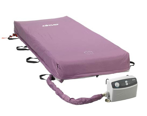 Drive Med-Aire Alternating Pressure Low Air Loss Mattress with Pump 14029 is a complete system.