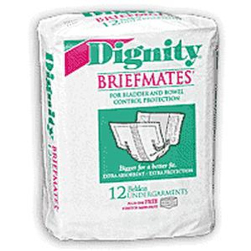 Dignity Briefmates Beltless Undergarment - Moderate Absorbency