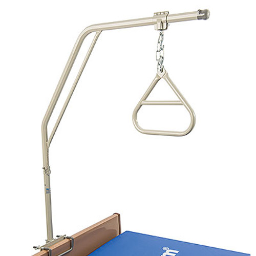 Invacare Trapeze Bar with Trapeze has a safe working load of 168 lbs.