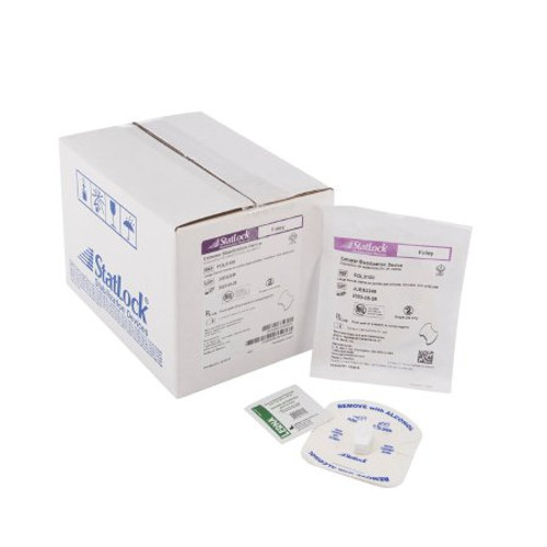 StatLock Foley Catheter Stabilization Device, Foam Anchor (For 8 - 26Fr Tubes)