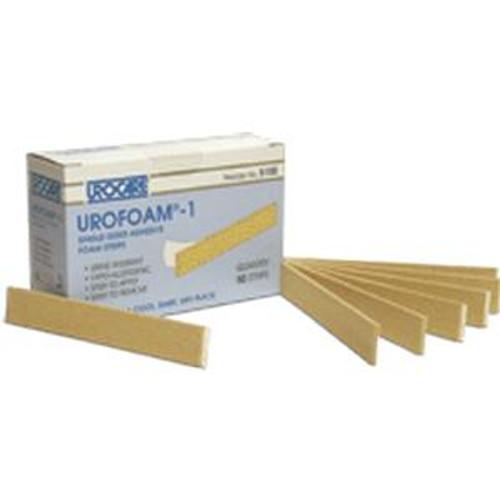 "Urofoam Adhesive Foam Strips, 1"" x 5.75"""