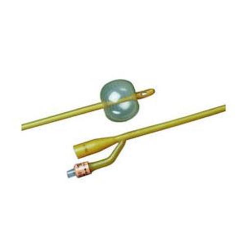Bard Silicone Elastomer Coated Two-Way Foley Catheter, 5cc