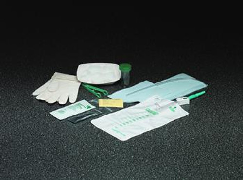 Bard Sterile Urethral Trays, 14 Fr and 16 Fr, with 1000 mL Collection Bag