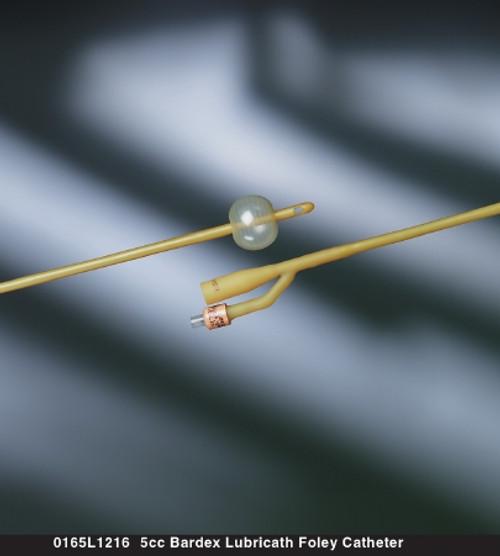 Bardex Lubricath Two-Way Foley Catheter, Standard Tip