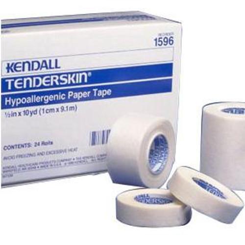 Kendall Tenderskin Hypoallergenic Paper Tape - 10 Yard Rolls