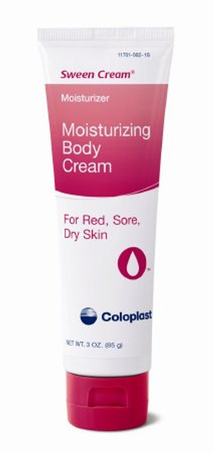 Sween Cream with natural vitamins A & D, is an effective, soothing preparation for use on red, sore or irritated skin - 3 oz. tube