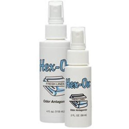 Hex-On Air Freshener, Fresh Linen Scent, 2 oz Bottle