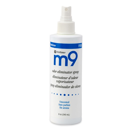 Hollister M9 Odor Eliminator Spray is safe and highly effective room spray, which helps neutralize unpleasant odors. Shown in 8 oz. size option.