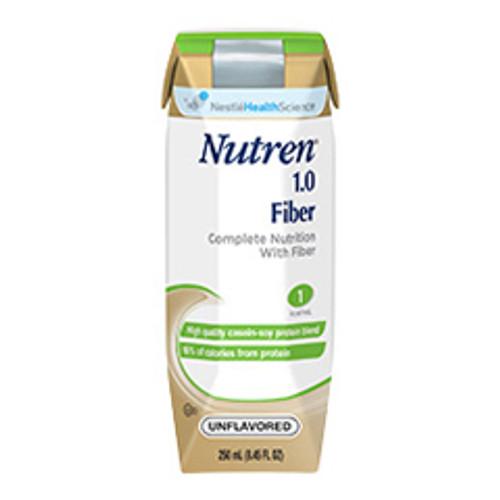 Nutren 1.0 Fiber Complete with Prebio1, Unflavored, 250 mL